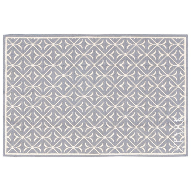 Stark Studio Traditional Chinese Needlepoint Keiv Wool Rug - 5′9″ × 9′ For Sale
