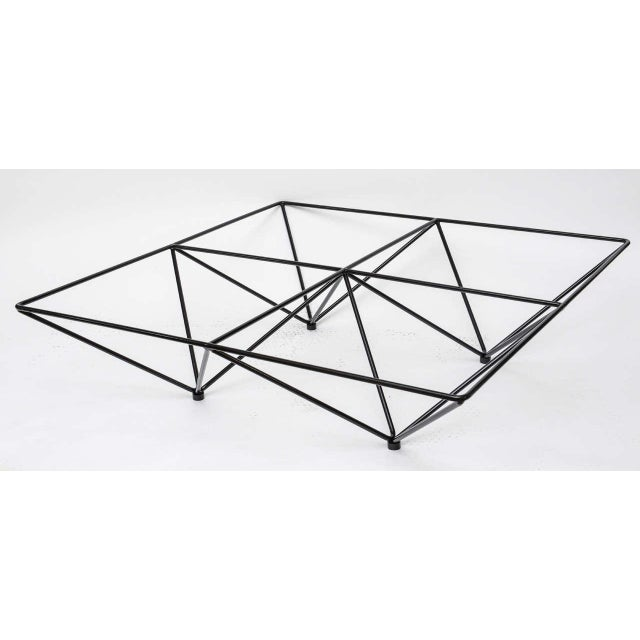 Minimalist Geometric Paolo Piva Alanda Coffee Table - Image 3 of 10
