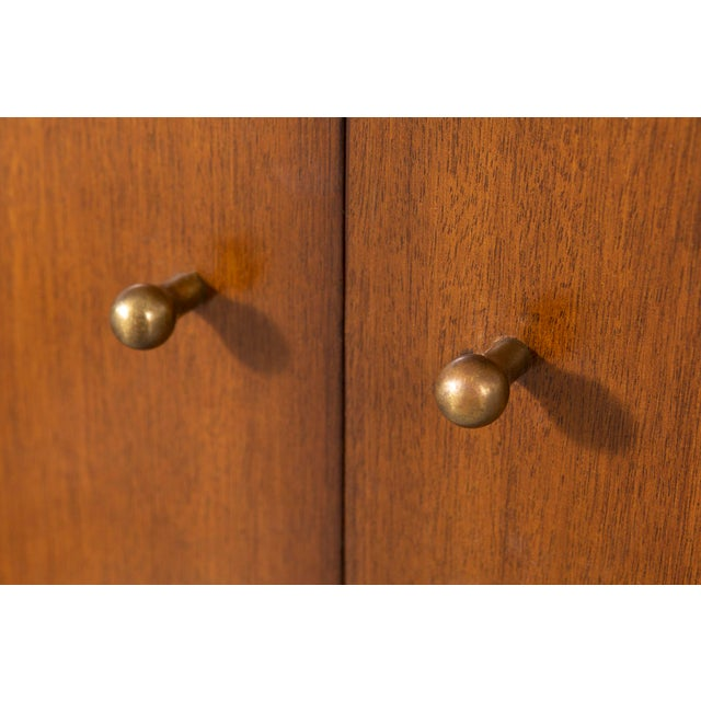 Paul McCobb for H. Sacks + Sons Connoisseur Collection Walnut Cabinet For Sale In Chicago - Image 6 of 9