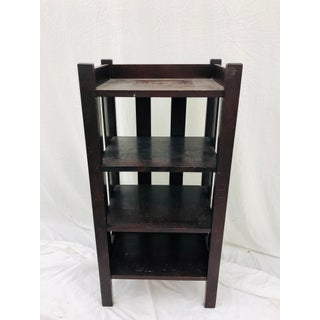 Antique Mission Style Bookcase Preview