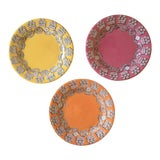Image of Paseo Dessert Plates by Faiencerie De Gien - Set of 3 For Sale
