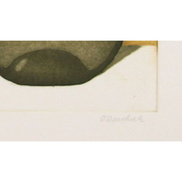 "Tighe O'Donoghue, ""Tides - Suite 2,"" Etching - Image 2 of 2"