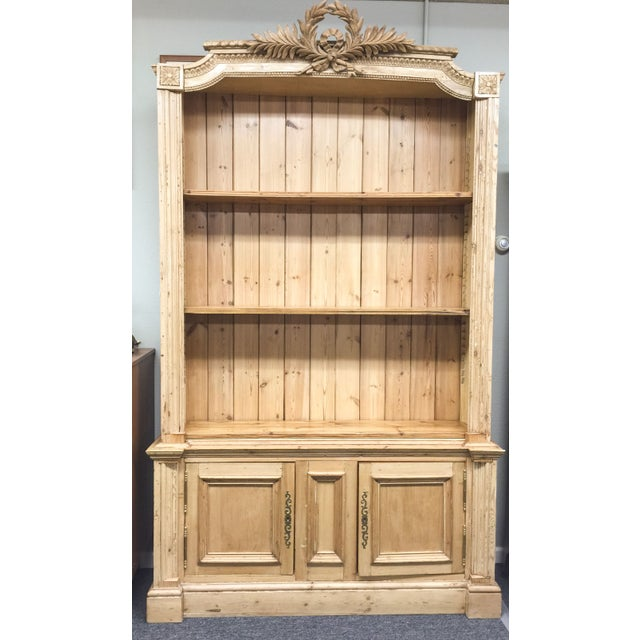 Antique French Pine Bookcase - Image 2 of 6