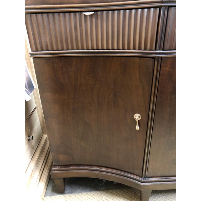 2000 - 2009 Traditional Walnut Buffet For Sale - Image 5 of 6
