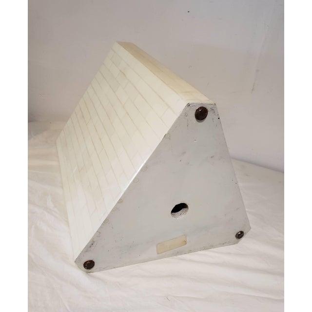 1970s Vintage Bone Inlay Pedestal For Sale - Image 5 of 6