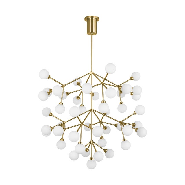 The Mara Grande LED chandelier from Tech Lighting is a wholly modern interpretation of classic multi-tier chandelier, but...