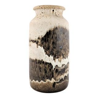 Scheurich Ceramic West German Hand Decorated Vase/Umbrella Stand For Sale