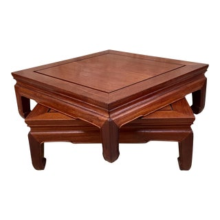 1950s Ming Style Rosewood Altar Table For Sale