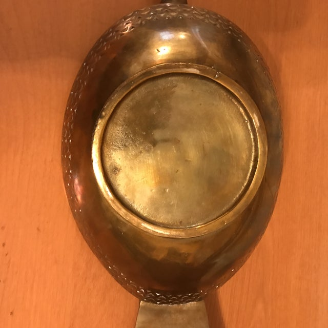 Mid-Century Brass Duck Bowl For Sale - Image 11 of 11