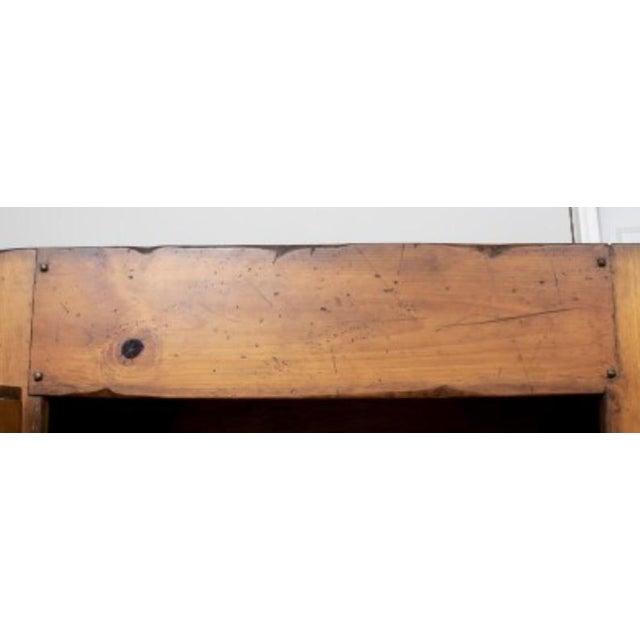 Monumental Ralph Lauren for Henredon Pine Cabinet For Sale - Image 10 of 11