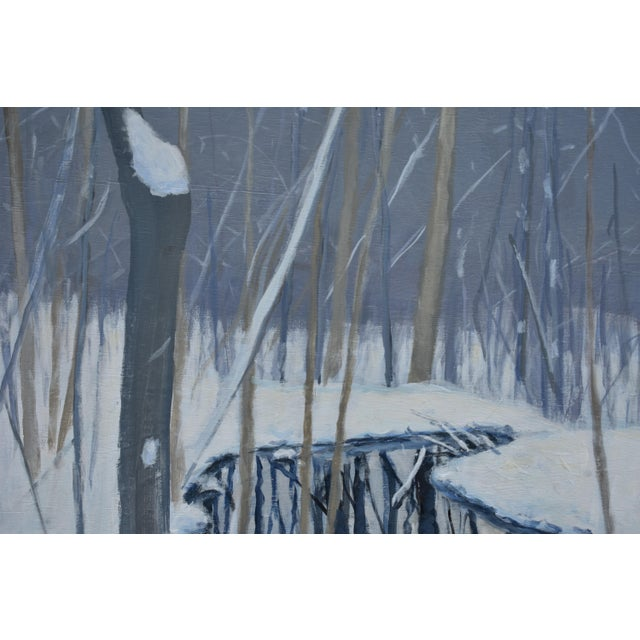 """Stephen Remick """"The Pond and the Mountain"""" Painting by Stephen Remick For Sale - Image 4 of 13"""