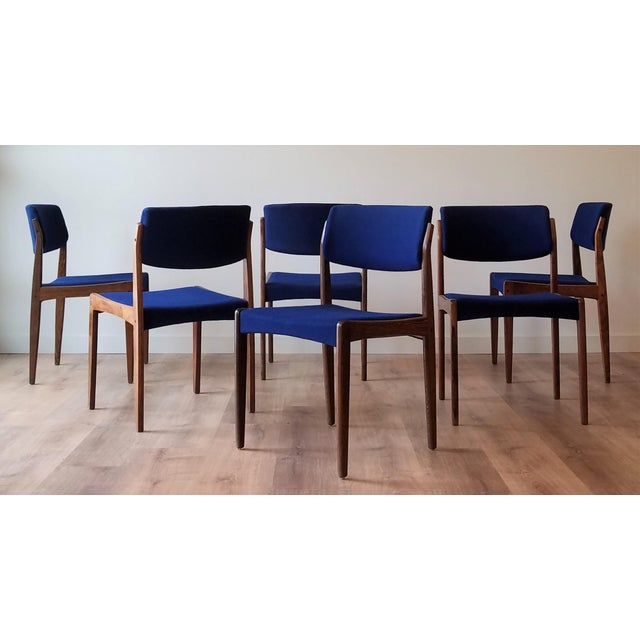 1960s Danish Rosewood Dining Chairs - Set of 6 For Sale - Image 12 of 13