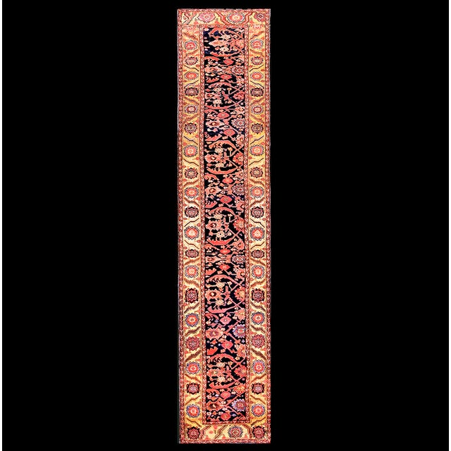 """Antique Nw Persian Rug 3'4"""" X 14'3"""" For Sale In New York - Image 6 of 6"""