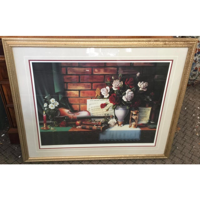 1980s Ronnie Hedge Limited Edition Signed Lithograph Still Life For Sale In San Francisco - Image 6 of 6