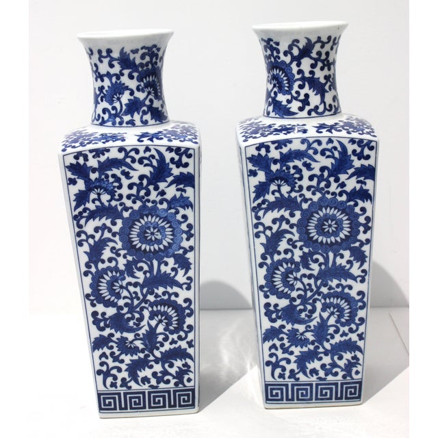 Pair of iconic Silk Road style Vases from a Palm Beach estate
