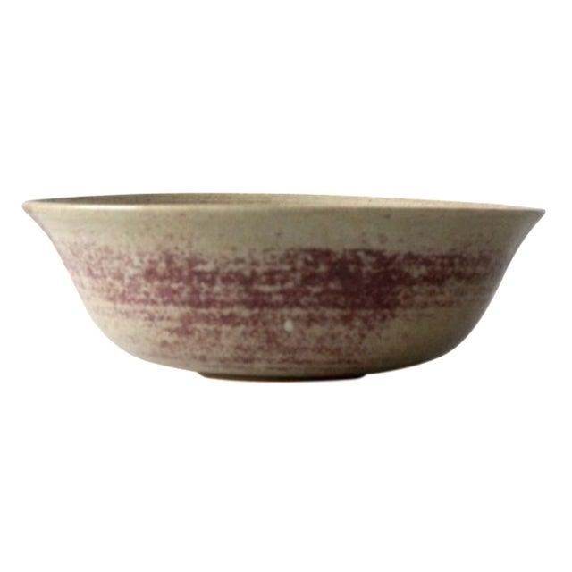 Mid-Century Studio Pottery Bowl - Image 1 of 6