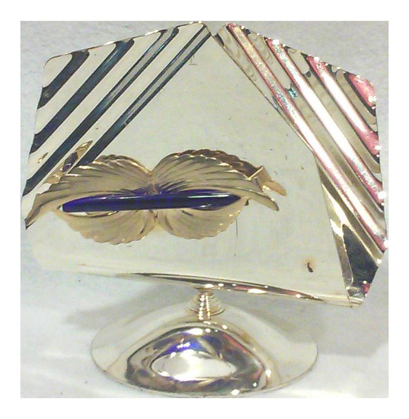 Italian Art Deco Silverplated Napkin Holder - Image 1 of 4  sc 1 st  Chairish & Italian Art Deco Silverplated Napkin Holder | Chairish