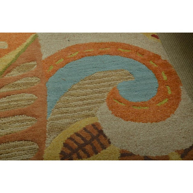 Attractive Carpet Runner in Multi-Colored Deco Pattern - Image 5 of 9
