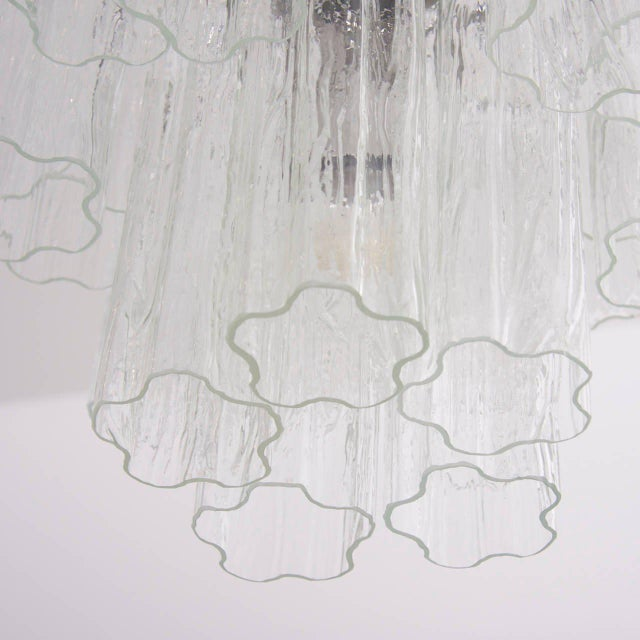 Modern Murano Glass Tronchi Chandelier For Sale - Image 3 of 5