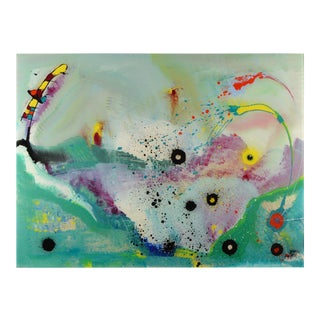 Signed Original Abstract Painting by Christopher Martin For Sale