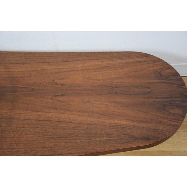 Kagan Style Walnut Coffee Table - Image 5 of 10