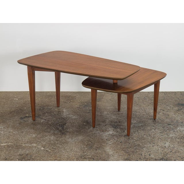 Bertha Schaefer 1950s Bertha Schaefer Folding Coffee Table For Sale - Image 4 of 12