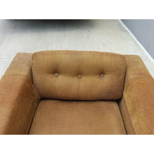 1960's Mid Century Modern Low Slung Lounge Chair For Sale In Miami - Image 6 of 8