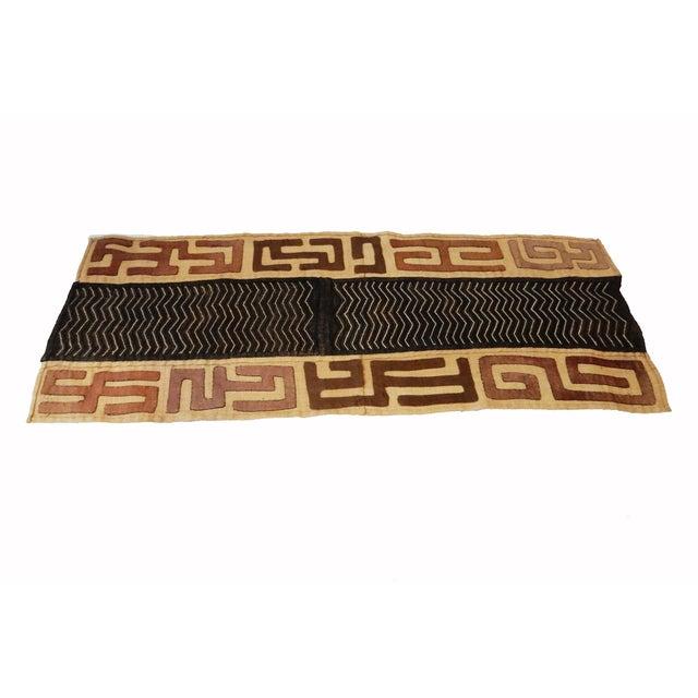 African Kuba Kasai Velvet Raffia Textile For Sale