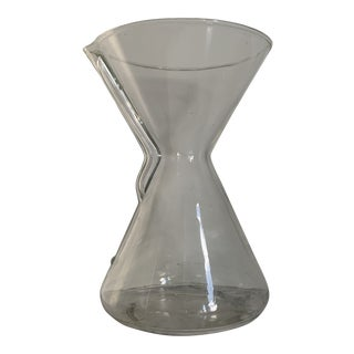 Mid-Century Modern Glass Pyrex Carafe For Sale