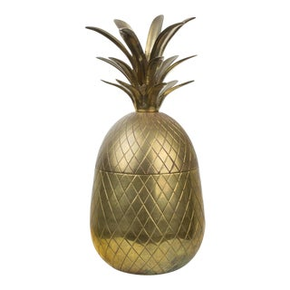Large Rosenthal Netter Brass Pineapple For Sale