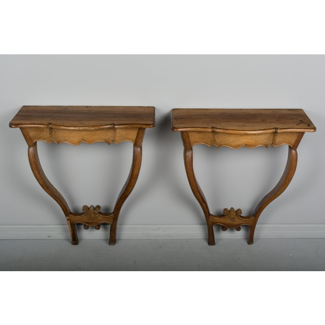 18th Century French Console Tables - a Pair For Sale - Image 10 of 10