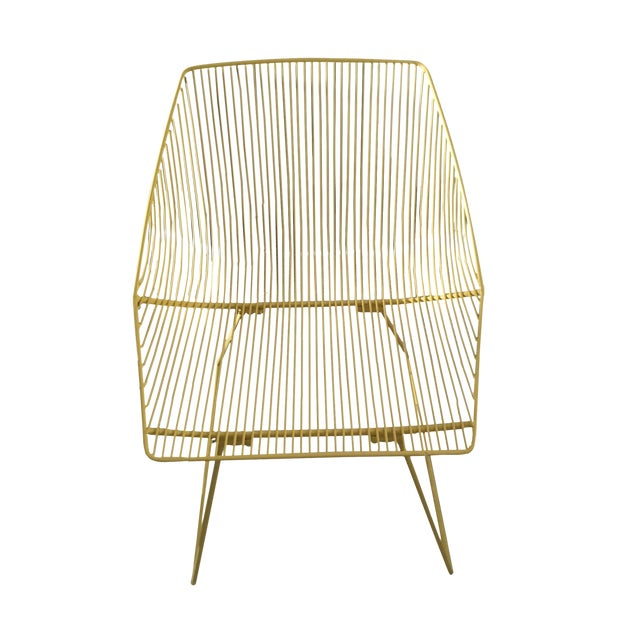Bend Goods Yellow Bunny Chair - Image 1 of 3