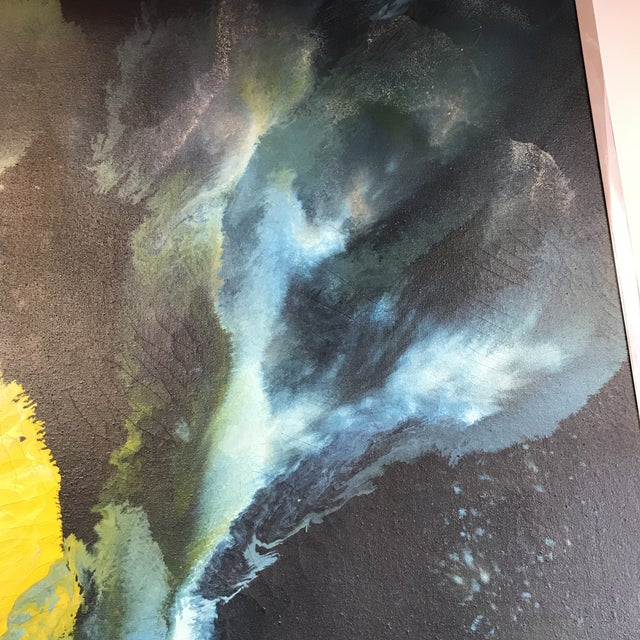 Mid-Century Abstract Expressionist Painting - Image 10 of 10
