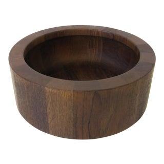 Jens Quistgaard Dansk Staved Bowl For Sale