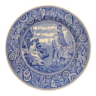 Spode Blue Room Collection 'Woodman' Plate For Sale