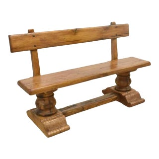 Rustic French Bench For Sale