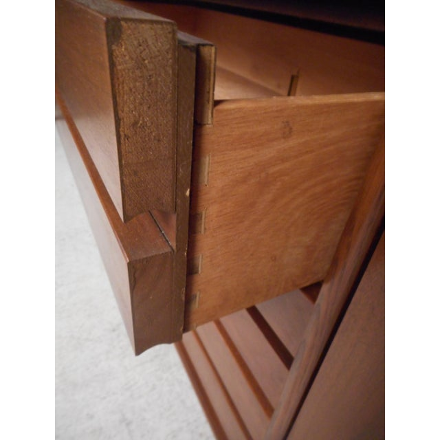 1960s Vintage Modern Credenza With Topper by Stanley For Sale - Image 5 of 13