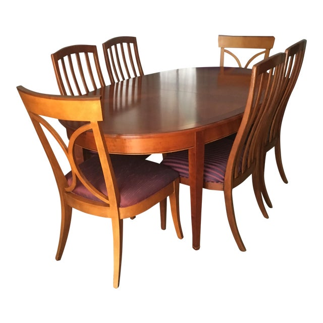 Grange France Dining Table With Six Chairs - Image 1 of 10