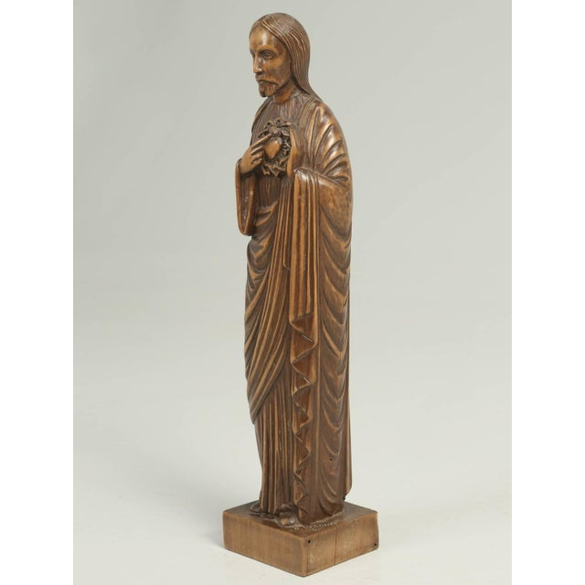 Wood Carving by the French Sculptor R. Vergnes, Circa 1949 For Sale - Image 9 of 9