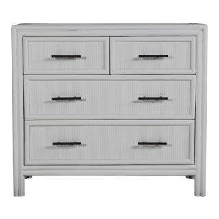 Bermuda Four-Drawer Chest - Light Gray For Sale