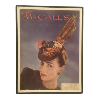 1944 Vintage McCall's Magazine Cover For Sale