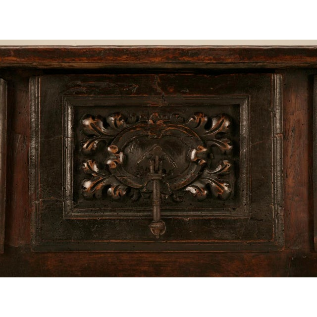 Spanish Console/Sofa Table with Three Deep Drawers For Sale In Chicago - Image 6 of 10