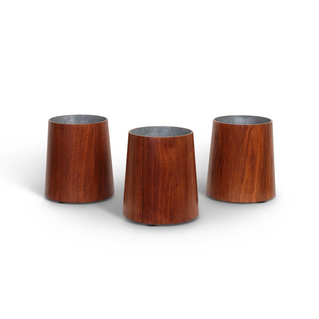 Collection of Jens Risom Wastebaskets For Sale - Image 13 of 13