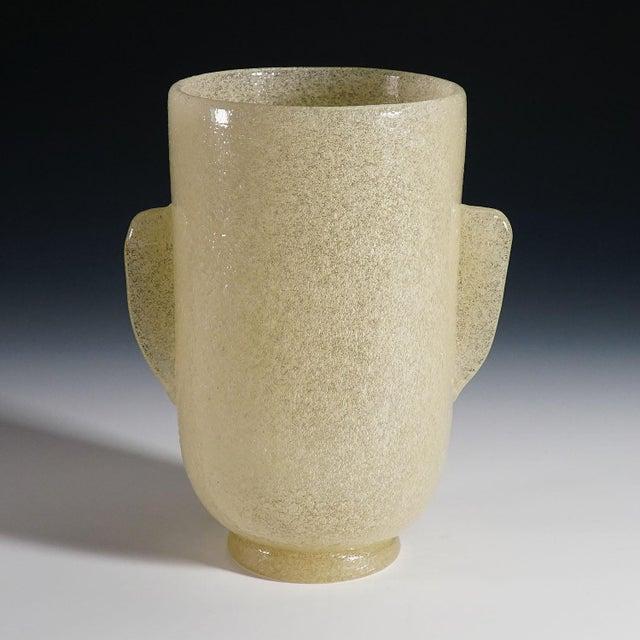 Carlo Scarpa Carlo Scarpa 'A Bollicine' Glass Vase for Venini Ca. 1932 For Sale - Image 4 of 10