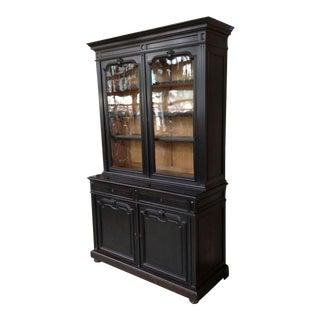 Ebonized French 19th Century Bookcase