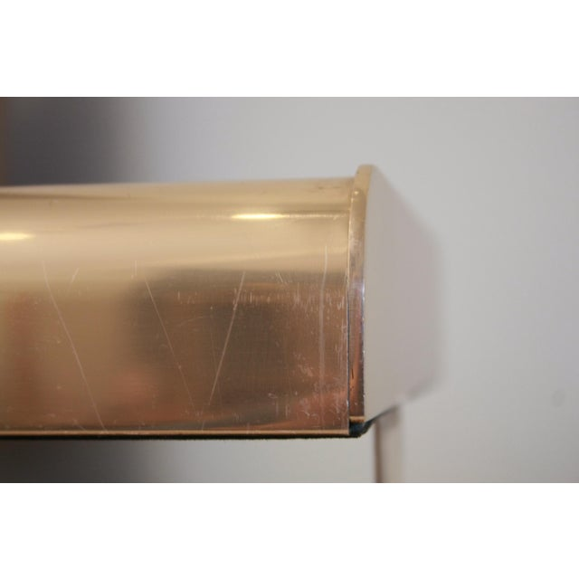 William Sklaroff Radius Two Brass Desk Tray For Sale - Image 11 of 11