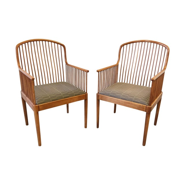 Exeter Chair by Davis Allen for Knoll - Pair - Image 1 of 8