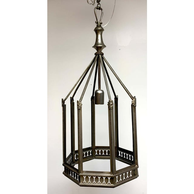 Art Deco Octagon Lantern From the El Cid Theatre, Los Angles For Sale - Image 9 of 11