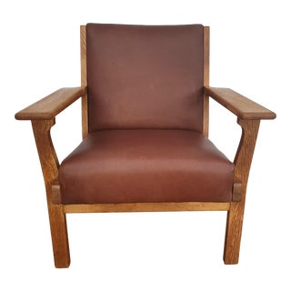 Vintage Danish Design H.J.Wegner Model Ge 181 Armchair For Sale