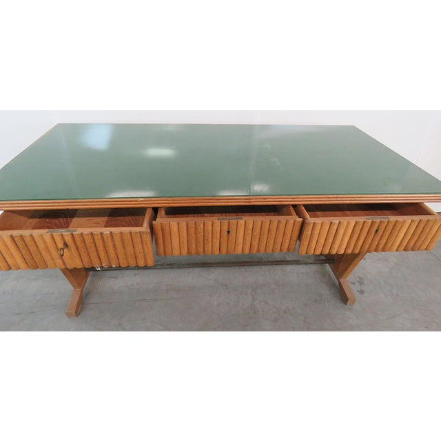 Gio Ponti Gio Ponti Style Desk For Sale - Image 4 of 7